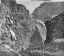 AFGHANISTAN: Disaster in; Pari Durrah-entry to Jugdulluk defile, old print, 1880